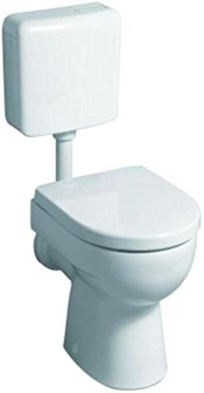 Keramag WC Tiefspüler (ohne Deckel) Renova Nr.1, 213010 KeraTect wei? 4,5 6 l 213010600