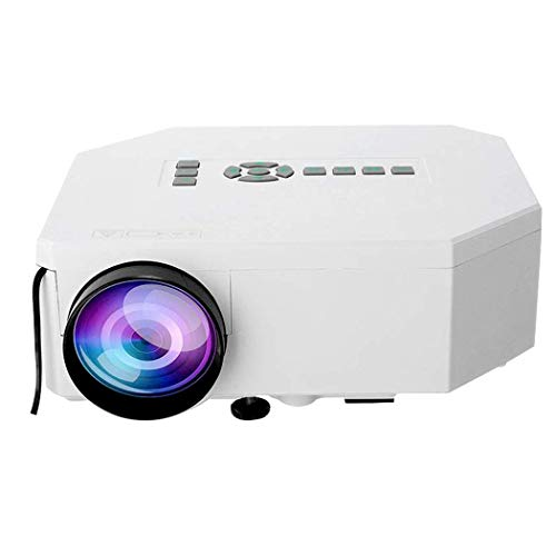 Find Discount DBGS HD Projector, 1080P Projector Native USB/HDMI/AV Video Projector Home Theater Movie 30-110 Inch Projector Suitable for Home/Outdoor/Games