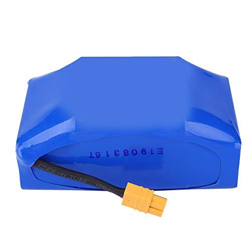 Akozon Balance Scooter Battery Placa de protección incorporada 4.4AH para el Accesorio de reemplazo de Balance Scooters Tiempo de Carga: 1.5-2 Horas(Azul)