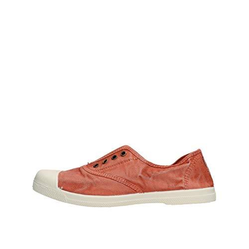 natural world scarpe uomo Natural World Eco Tennis Cotone CANGREJO Enz 102E 623 38 Arancione
