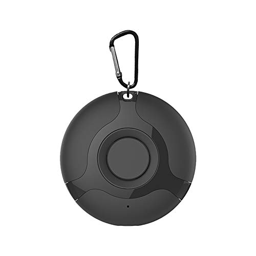 Sunton Ultrasonic Mosquito Repellent, Portable Mosquito Dispeller, Outdoor and Indoor (Black)