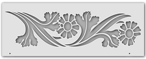Wandschablone Jugendstil-Borte (40 x 15 cm)