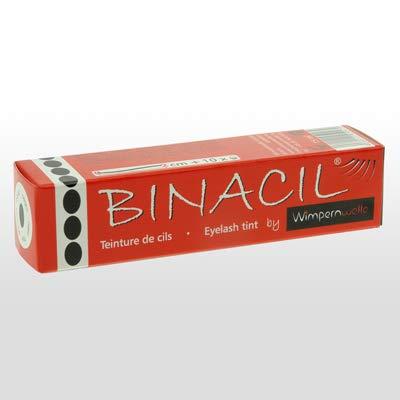 BINACIL schwarz Augenbrauen- & Wimpernfarbe 15ml