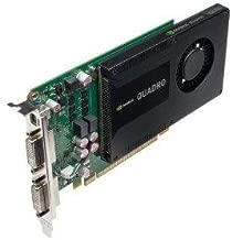 Nvidia Quadro K2000d - Graphics Card - Quadro K2000d - 2 Gb Gddr5 - Pcie 2.0 X16 - 2 X Dvi, Mini Displayport - Retail