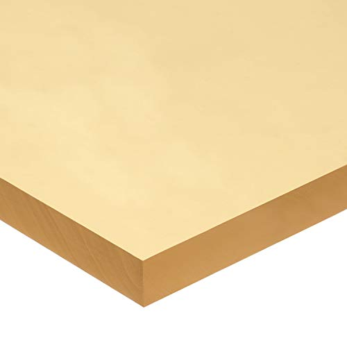 Polyurethane Rubber Sheet with Acrylic Adhesive - 60A - 3/16' Thick x 12' Wide x 12' Long