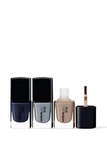 Amazon-Marke: find. Weekend Getaway- Nagellack 3er-Pack (n.4, n.13, n.14)