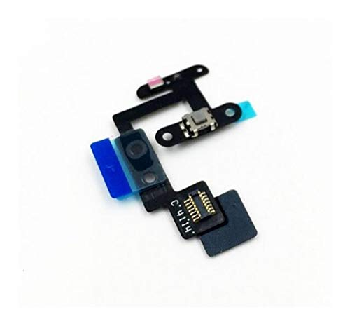 HenShiXin Durable 10pcs/lot Power Button Switch Volume Button Mute On/Off Flex Cable For iPad6 iPad Air2 iPad 4 sustained