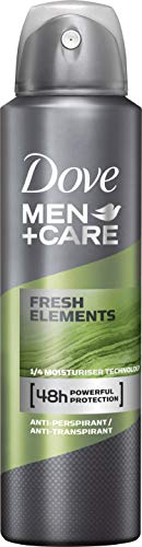 Dove Men+Care Deospray Fresh Elements Anti-Transpirant, 6er Pack (6 x 150 ml)