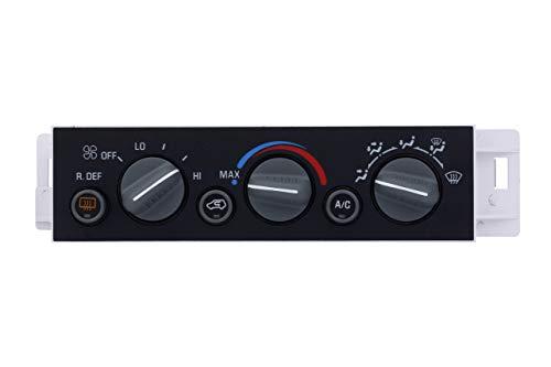 Repuesto de panel de control de climatización de CA – Compatible con Chevy, Cadillac y GMC – Escalade, C1500, C2500 Suburban, C3500HD, K1500, K2500 Suburban, Tahoe, Yukon – Sustituye a 16231165, 9378805