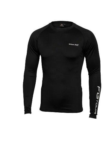 Wilson Authentic - Polo para Hombre, tamaño XL, Color Negro