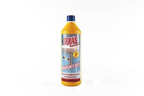 TEXAS Disgorgante, disotturante, stura scarichi, sgorgante Altamente Professionale Made in Italy