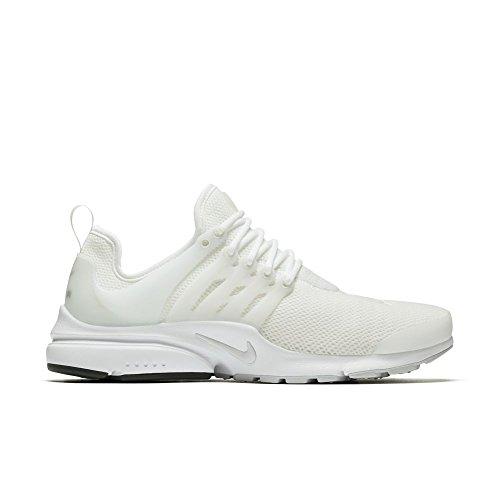 Nike Unisex W Air Presto Fitnessschuhe, Weiß/Grau (White Pure Platinum White), 44.5 EU