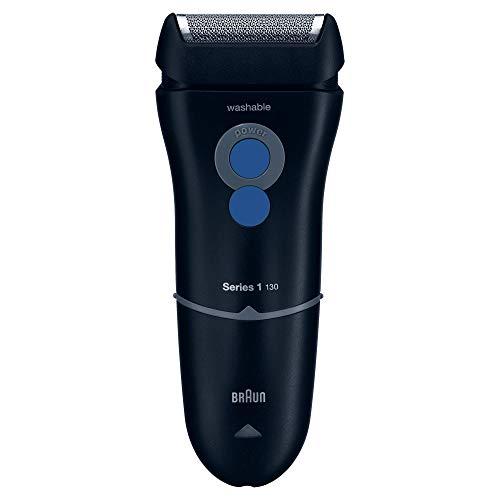 Braun Series 1 130 S-1 - Afeitadora eléctrica para hombre, máquina de afeitar barba, azul oscuro