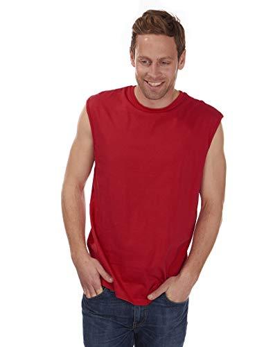 Cargo Tas Mens Mouwloos T-Shirt Vest Top