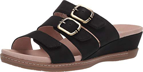 Dansko Women's Allyson Black Sandals 7.5-8 M US