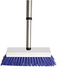 Fuller Brush Tub & Shower E-Z Scrubber Brush - Heavy Duty Brushing Scrub w/Stiff Bristle & Extended Telescopic Handle For Cleaning Bathroom Floor & Tiled Kitchen Surface - For Home & Commercial Use