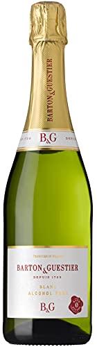 Barton & Gustier Vino Espumoso sin Alcohol Barton & Gustier - 6 Paquetes de 750 ml - Total: 4500 ml