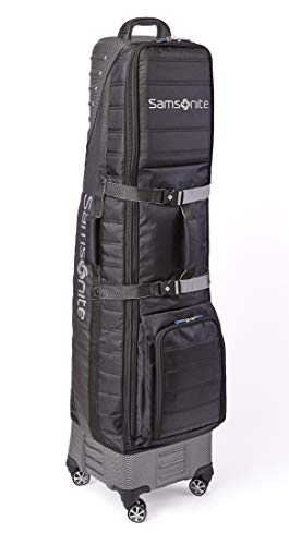 """Samsonite """"The Protector Hard & Soft Golf Travel Cover with Shark Wheels"""