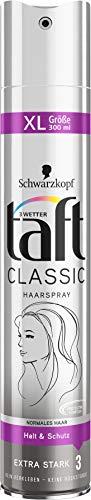 Schwarzkopf 3 Wetter Taft Haarspray 300ml Classic normales Haar, 1er Pack (1 x 300 ml)