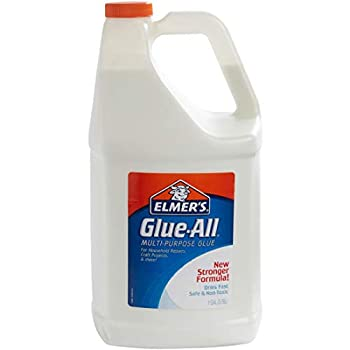 Elmer s Glue-All Multi-Purpose Liquid Glue Extra Strong 1 Gallon 1 Count - Great For Making Slime
