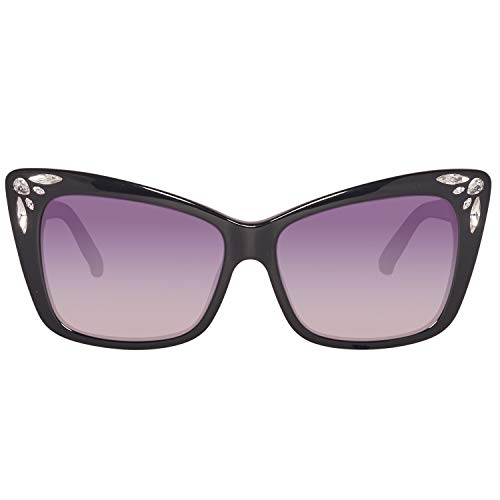 Swarovski Sunglasses Sk0103 01B 56 Occhiali da Sole, Nero (Schwarz), Donna
