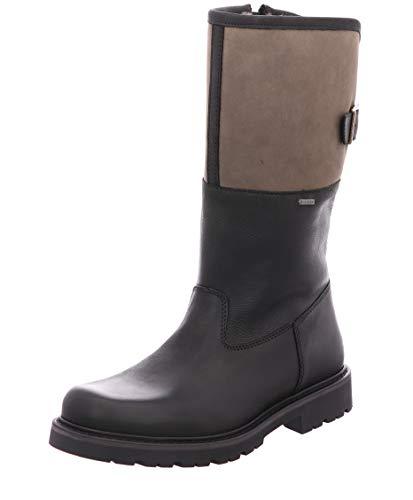 FRETZ MEN'S SHOES MEN'S STYLE Herren Stiefel Danilo, Winterstiefel, Gore Tex, Freizeit Winter-Boots fellboots Fellstiefel Men,51 Noir,8 UK / 42 EU