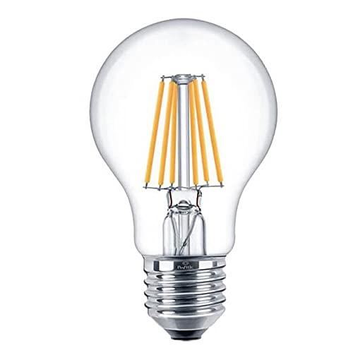 Lampadina a filamento LED intelligente WiFi Smart E27 7 W A60 CCT dimmerabile e lampada multicolore, decorazione vintage, funziona con app Tuya, compatibile con Alexa e Google Assistant