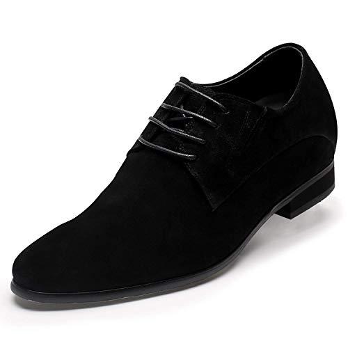 CHAMARIPA Herren Schuhe, 8 cm Business Schuhe die Größer Machen Elevator Shoe for Men H62D11K014D