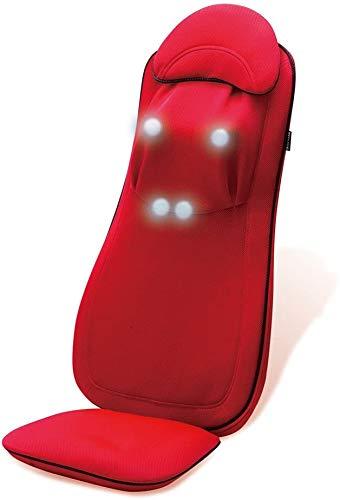 【メーカー保証5年付】ドクターエア 3Dマッサージシート プレミアム (ディープレッド) MS-002RD | マッサージチェア マッサージ機