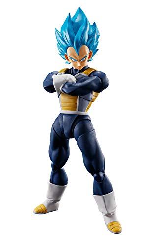 TAMASHII NATIONS Bandai S.H. Figuarts Super Saiyan God Super Saiyan Vegeta Dragon Ball Super: Broly Action Figure
