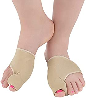 Hamkaw Bunion Corrector Sleeve with Gel Pad for Men and Women - Orthopedic Bunion Corrector Splint - Relief Hallux Valgus Foot Pain 1 Pair