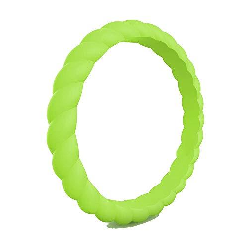 IVERIRMIN mannen 3mm Classic Silicone ring paar trouwringen buiten sport ringen