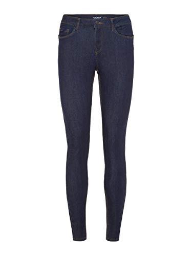 VERO MODA Female Slim Fit Jeans Vmseven Normal Waist S32Dark Blue Denim