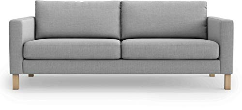Thick Polyester Material Snug Fit Karlstad 3 Seat Sofa Cover Slipcover for The IKEA Karlstad Three Seat Slipcover Replacement