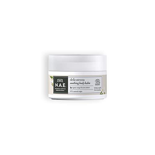 N.A.E. Balsamo Corpo Delicatezza, Crema Idratante Corpo con Estratti di Fiori d'Arancio Biologico, Formula Vegana, 200 ml