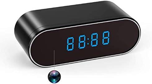 Spy Camera Hidden Camera Clock WiFi 1080P Video Recorder 140 Wide Angle Lens Wireless IP Cameras product image
