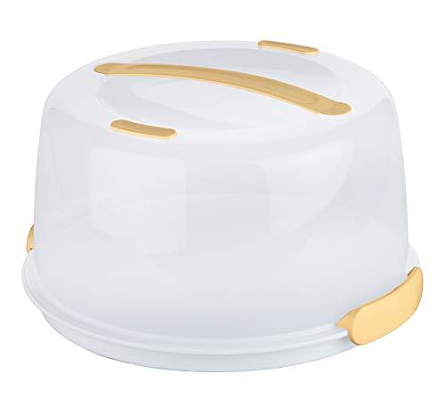 Tescoma 630840 Delicia Porta Torte con Tavoletta Refrigerante, Diametro 34 cm