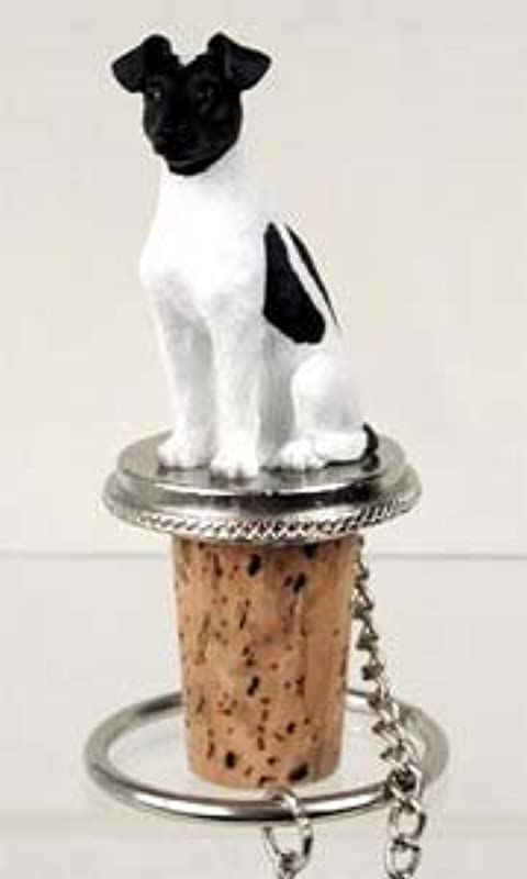 Conversation Concepts Fox Terrier Bottle Stopper Smooth