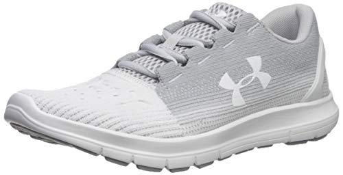 Under Armour Women's Remix 2.0 Sneaker, Halo Gray (101)/White, 8