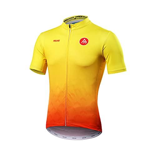 Maillot Ciclismo Hombre Verano Manga Corta Camiseta, Ropa De Ciclismo MTB Corta...