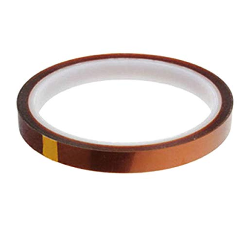 ZREAL 10/20/30/50/100mm Heat Resistant Kapton Tape High Temperature Tapes for 3D Printer PCB