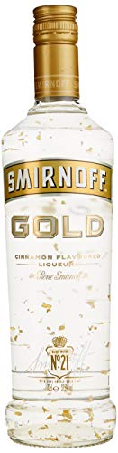 Smirnoff Gold Collection Cinnamon Flavoured Liqueur (1 x 0.7 l)