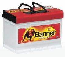 Banner Powerbull Starterbatterie 12V, 77Ah, 680 A (EN), P7740