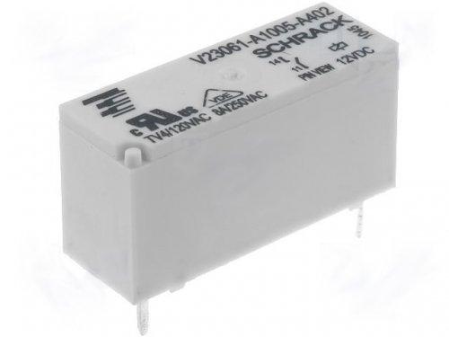 Schrack Relais V23061-A1005-A402 12V DC max 250V/8A