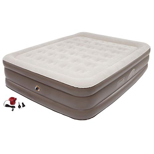 Coleman SupportRest Plus PillowStop Double-High Airbed, Queen