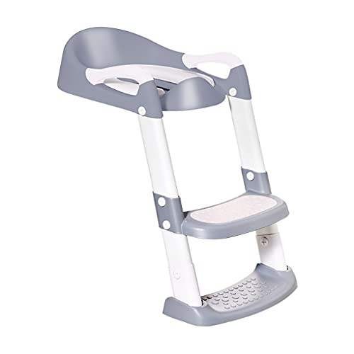 PTMD Toilet Training Padded Seat with Foot Safety, Non-slip, Height...