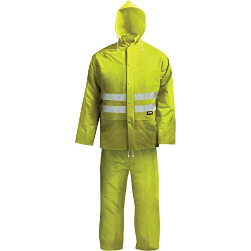Scan WWHVRSYL - Equipo e indumentaria de seguridad (tamaño: Large), color: amarillo