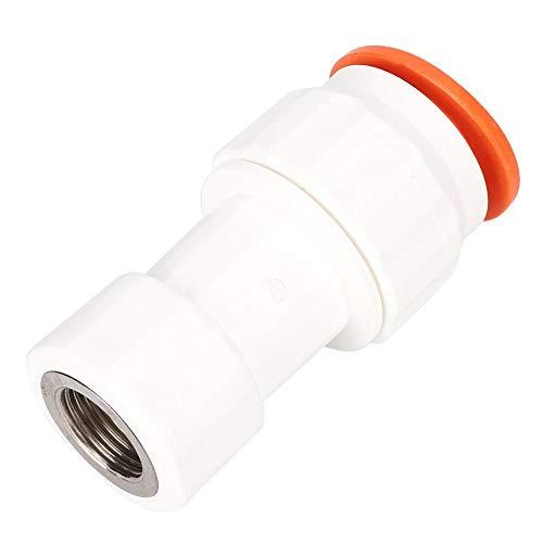 Niunion Conector de Agua, Conector Recto de Accesorios de Adaptador de tubería...