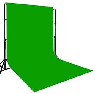 Krisha 8 x12 FT Green LEKERA Backdrop Photo Light Studio Photography Background(Green)