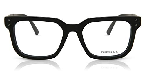 Diesel DL5263 Monturas de gafas, Negro (Negro Lucido), 52.0 Unisex Adulto